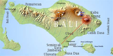 bali indonesia map  distance bali indonesia holiday