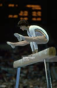 gymnast comaneci at the 1980 moscow olympic