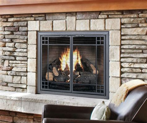 fireplace with glass doors benefits of glass fireplace doors design specialties