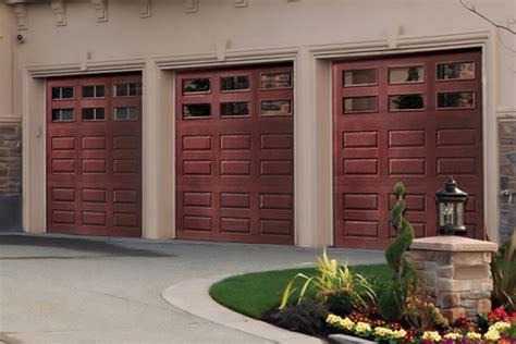 garage doors cost faux wood garage doors look of wood at a budget price
