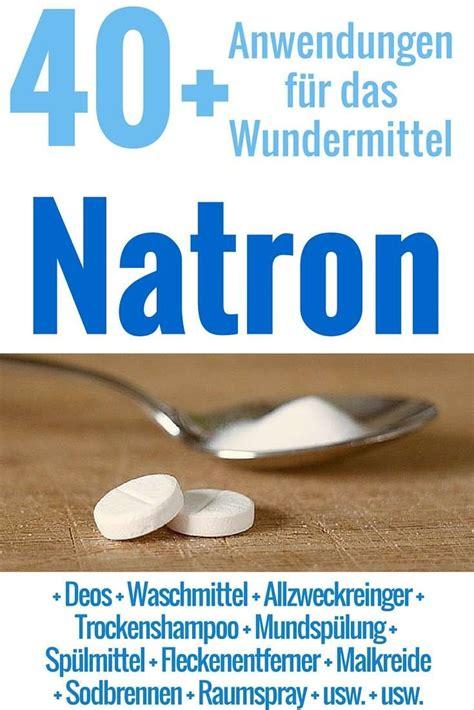 Natron Gegen Geruch by 51 Natron Anwendungen Wundermittel F 252 R Haushalt
