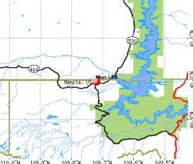 Manila Utah Map