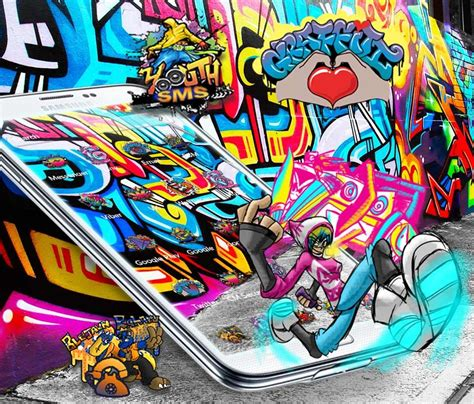 Street Graffiti Theme  Android Apps On Google Play