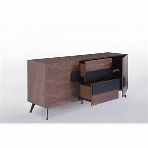 Buffet Enfilade Vintage : buffet enfilade 2 portes 2 tiroirs vintage magen en bois noyer ~ Teatrodelosmanantiales.com Idées de Décoration