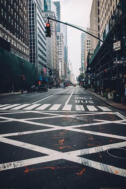 Road Street Unsplash Buildings Traffic Building Markup