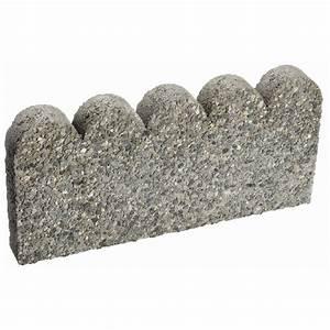 Bordure En Ciment : bordure d 39 am nagement paysager festonn e en b ton rona ~ Premium-room.com Idées de Décoration