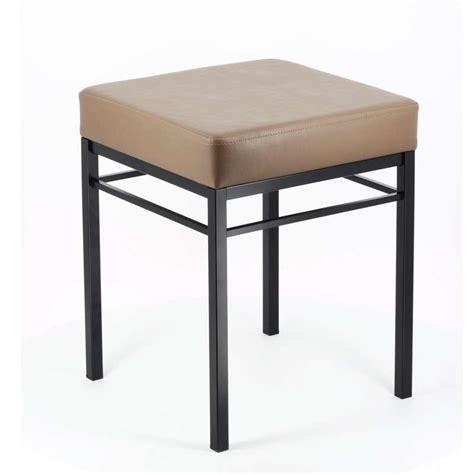 tabouret bas cuisine tabouret bas de cuisine en métal quadra 4 pieds tables