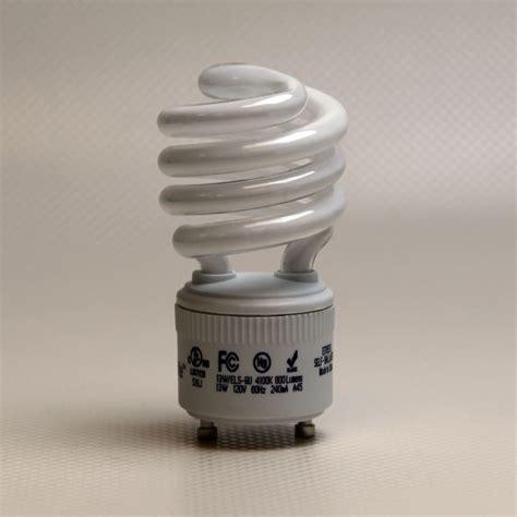 13w fluorescent light bulb high lumen output gu24 base cfl
