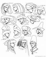 Kleurplaat Hoeden Historische Habillement Coloriage Apprentissage Mandala Coloringpagesfun источник sketch template