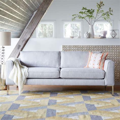 west elm settee west elm marco sofa copycatchic