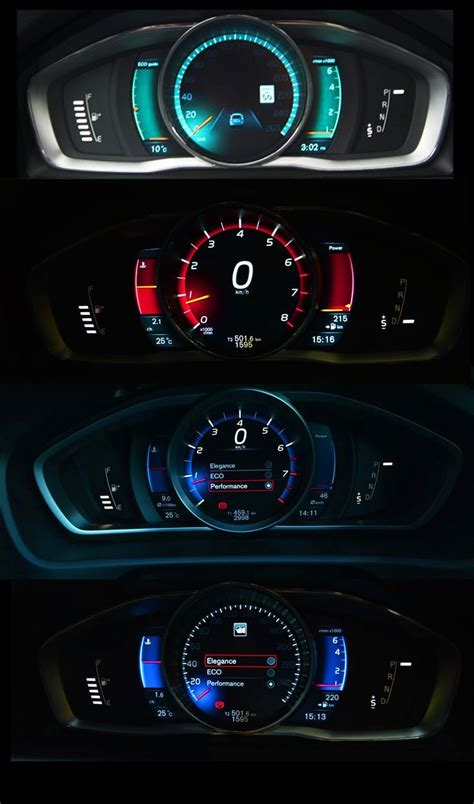 Digital Dashboard Cars by 2013 Volvo V40 Performance Instrument Cluster If You Like