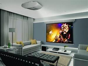 Projecteur Cinema Maison : le cin ma maison en 2012 magazine luxe immobilier i design i art de vivre ~ Melissatoandfro.com Idées de Décoration