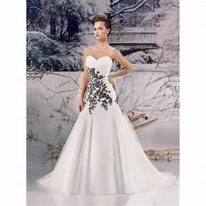 Shopping Paris Pas Cher : miss paris 133 05 ivoire et noir superbes robes de mari e pas cher 2790515 weddbook ~ Melissatoandfro.com Idées de Décoration