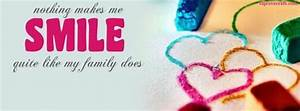Family Makes Me Smile cover photo for facebook profile ...