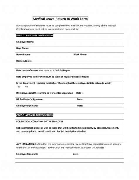 unique return  work  restrictions letter