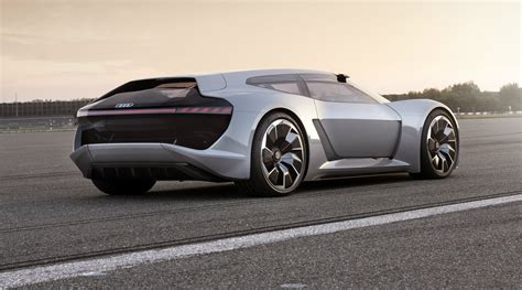 Car For by Audi Pb18 E Concept Car Is An Electric Supercar For