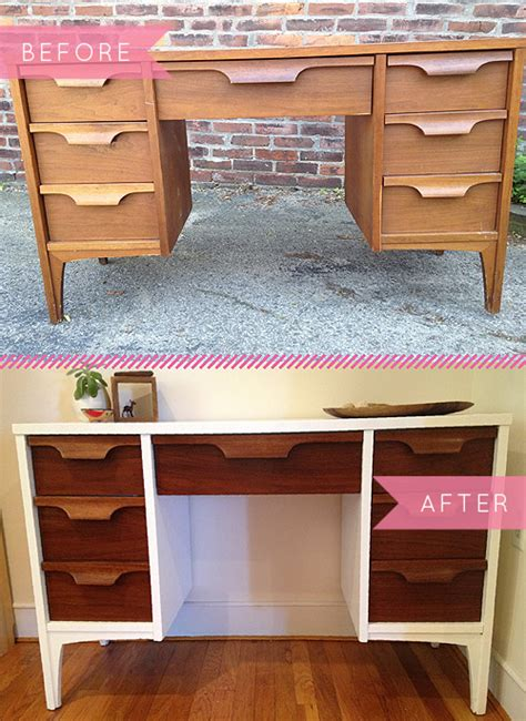 Before & After A Midcentury Desk Gets A Fresh New Look. Retro Kitchen Paint Ideas. Amazing Simple Kitchen Ideas. Tattoo Designs You Can Print. Halloween Quest Ideas. Creative Ideas Making Project File. Cake Ideas Small. Backyard Bbq Picnic Ideas. Small Backyard With Garden