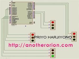 Membuat Traffic Light Dengan Codevision Avr  1