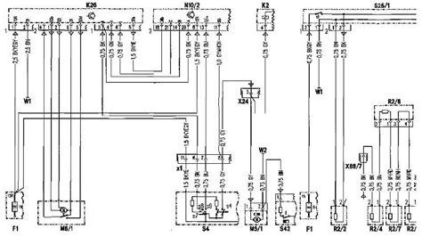 mercedes r129 wiring diagram