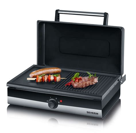 gril barbecue avec couvercle 187 smart line 171 severin