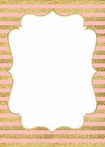 invitation gold and pink - Buscar con Google baby shower