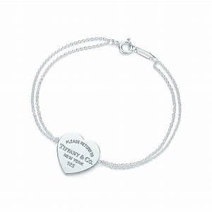 Return to Tiffany® heart tag bracelet in sterling silver ...
