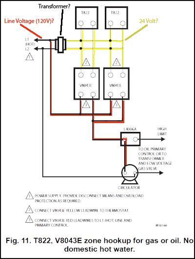 Honeywell Zone Control Valve Connect Line