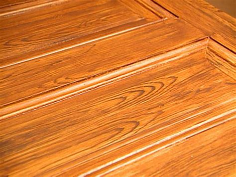 Decorative Paint Technique Woodgraining Instructions Hgtv