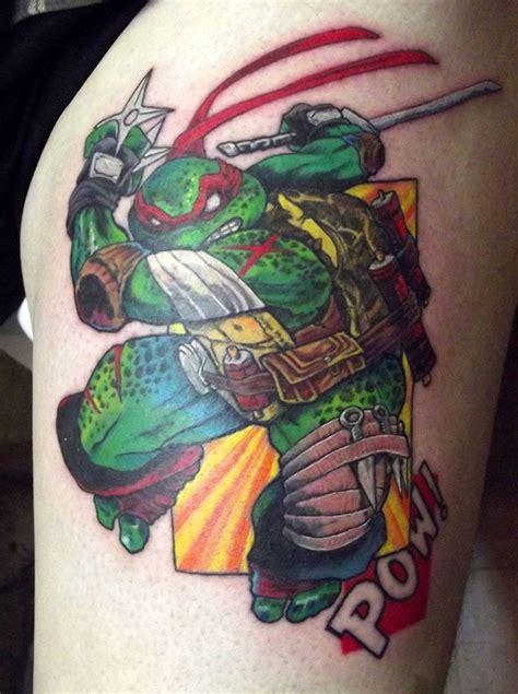 ninja turtle tattoo images  pinterest ninja