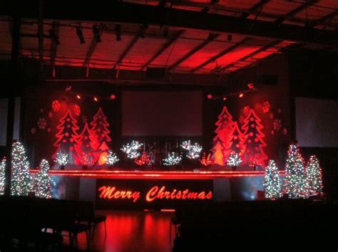 christmas decorations   stage christmas ridges