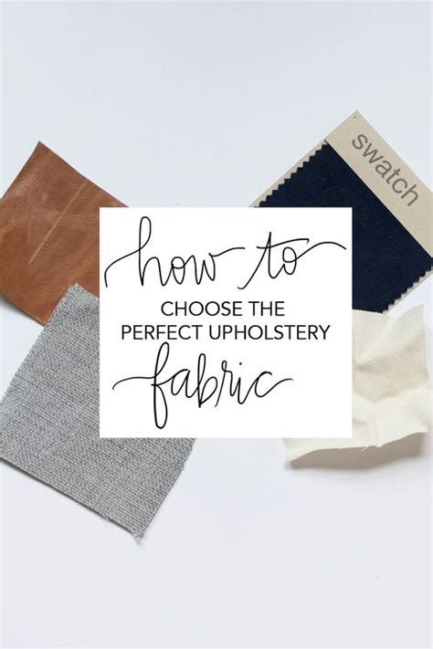 How To Choose Upholstery Fabric by How To Choose The Upholstery Fabric Upholstery