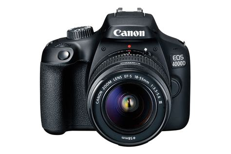 canon with canon eos 4000d quot the cheapest dslr launched