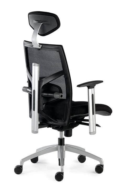 si 232 ge de bureau ergonomique confortable en tissu noir nantes