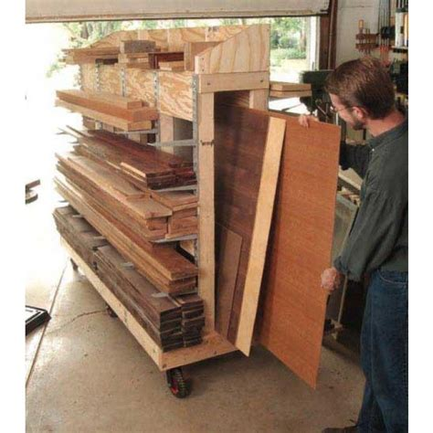 rolling lumber cart downloadable plan popular