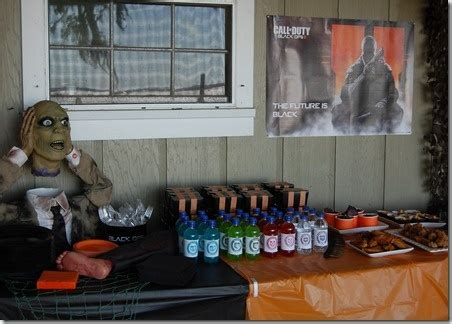 Call of Duty Black Ops 2 Party Ideas