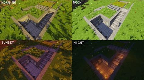modern underground house minecraft house design