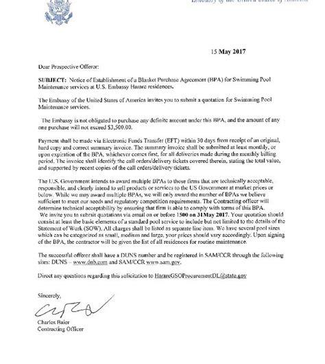 signed cover letter  embassy  zimbabwe