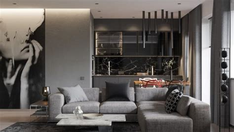 A Pair Of Modern Homes With Distinctively Bright Color Themes by Grey Bedrooms Ideas To Rock A Great Grey Theme