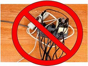 Never overload extension cords. Extension cords are for ...