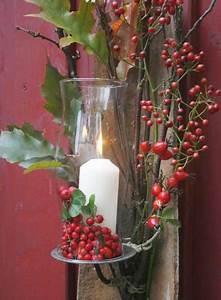 Herbstdeko Für Den Garten : windlicht mit hagebutten bild 2 living at home ~ Orissabook.com Haus und Dekorationen