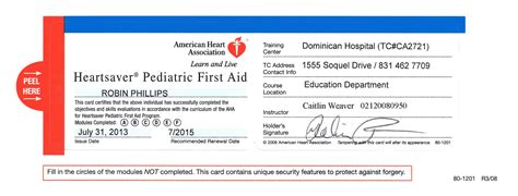 In need of your cpr card or ecard? First Aid Certificate Template Free Certification ...