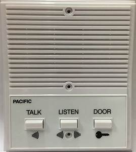 Pacific Apartment Intercom Station 3406 Universal Replacement 5  6 Wired System