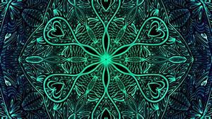 Mandala 032 Hintergrundbild Kostenlos