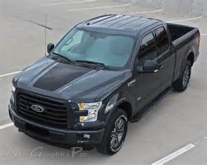 """2015 2016 2017 Ford F-150 """"RACER STYLE HOOD and TAILGATE"""