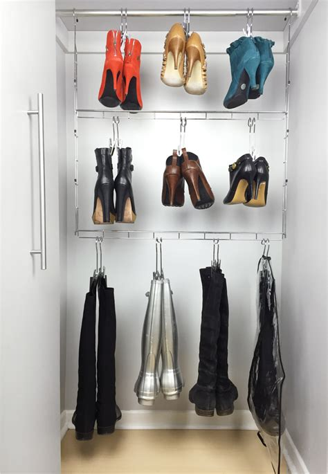 boot hangers for closet boottique boot organizer with boot hangers review