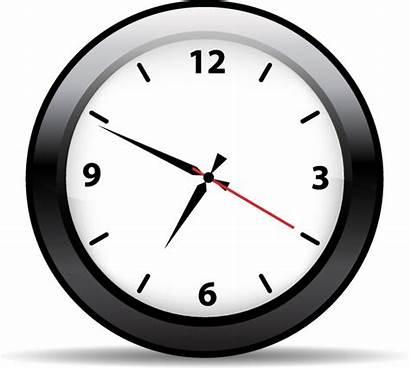 Clock Vector Clipart Wall Analog Face Icon