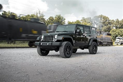 "2,5"" Rough Country Lift Kit  Jeep Wrangler Jk 4 Drzwi"