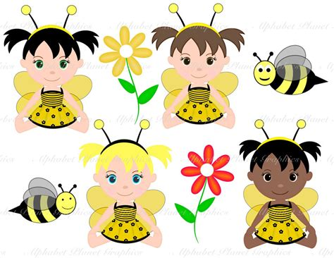 Baby Bumble Bee Clip Art