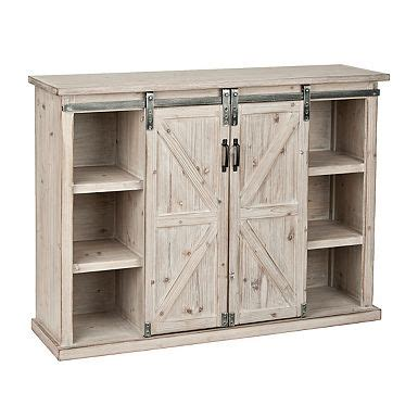 farmhouse sliding door cabinet 1000 ideas about farmhouse media cabinets on pinterest