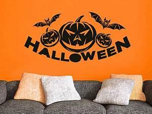 Halloween Kürbis Motive : wandtattoo halloween deko ~ Eleganceandgraceweddings.com Haus und Dekorationen